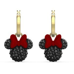 Swarovski MINNIE mouse cute earrings